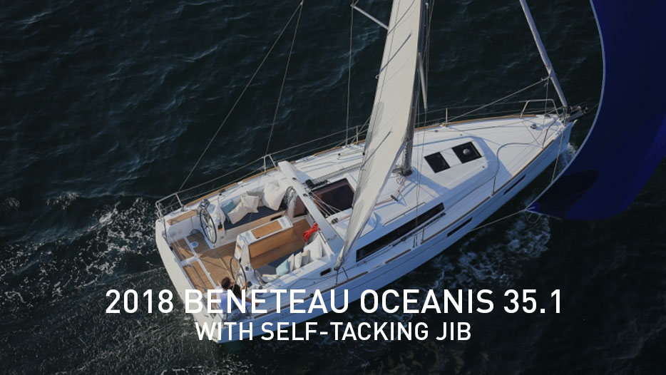 2018 Beneteau Oceanis 35.1 with Self-tacking jib