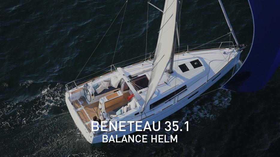 Beneteau 35.1 balance helm